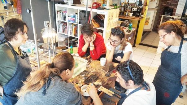Işıltan Irmak - takı tasarım - takı dersi - takı kursu- hobi - izmir hobi - atölyemiz canımız (23)